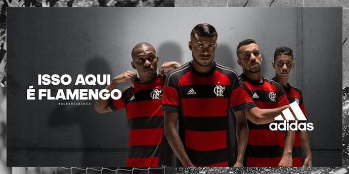 Fla divulga nova camisa do time - TV Canal 13 9540c572fa85c